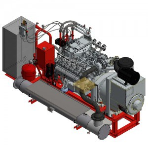 NISSEN gasmotor unit