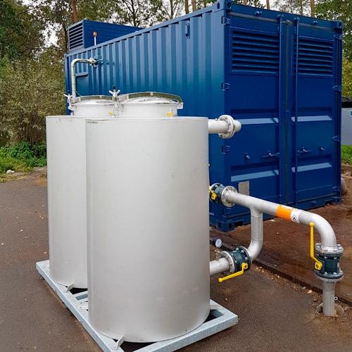 NISSEN energy gasrensning og nødkøling